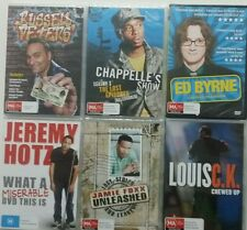 COMEDY  PACK 6X DVD CHRISTMAS BULK LOT NEW RUSSELL PETERS CHAPPELLE'S SHOW