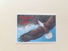 """Us Postage Stamp 1991 # 2542 """"$14 Express Mail"""" Eagle with Olympic Rings Mnh"""
