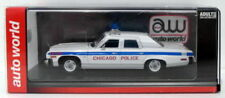 Véhicules policiers miniatures en résine