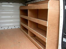 Ford Transit Custom LWB Off Side Compartment Plywood, Ply Racking,Shelving Racks