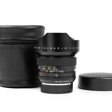 "Leica 15mm f/3.5 Super-Elmar-R 3-cam Leitz Lens ""MINT!"""