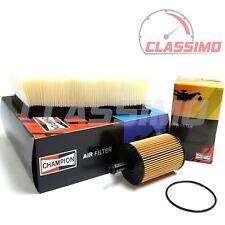 Air & Oil Filter Service Kit for SKODA FABIA + ROOMSTER - 1.4TDi 1.9TDi -1998-10