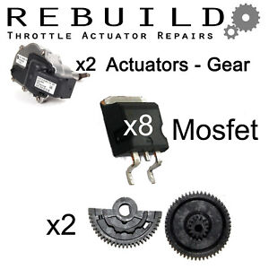 BMW Throttle Actuator Gear & x8 MOSFET Kit -  WORLDWIDE DELIVERY  s65 s85