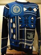 NHL Winnipeg Jets Men's Crew neck Sweater NHL Approved Small