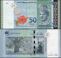 Malaysia 50 Ringgit. UNZ ND (2009) Banknote Kat# P.50a
