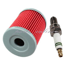 Oil Filter for Suzuki King Quad 300 Quadrunner 160 230 250 Ozark 250 Spark Plug