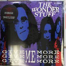 Rock Sealed! Lp The Wonder Stuff Give Me More Give Me More Give Me More On Polyd