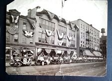 Photo c1915 FORD DEALERSHIP T. J. NORTHWAY 100 Excha ROCHESTER, NY - 4th OF JULY