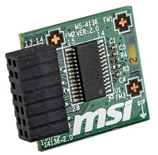 MSI TPM 2.0 Trusted Platform 14-Pin Motherboard Module MS-4136 Win 11 Compatible