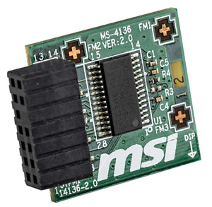 MSI Tpm 2.0 Confiance Plateforme 14-Pin Carte Mère Module MS-4136 Win 11