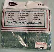 Vintage Nylrem Set of Hair Rollers - Sealed Green