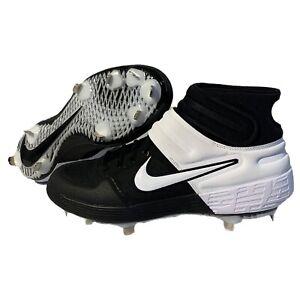Nike Alpha Huarache Elite 2 Mid Metal Baseball Cleats Size 12.5 CI2227-001