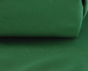 Cotton half Panama fabric in Green, for cushions, curtains, bags, 300gsm