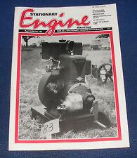 STATIONARY ENGINE MAGAZINE APRIL 1989 NO.182 - LISTER COMPRESSOR SAVED