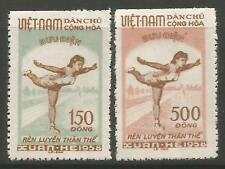 STAMPS-NORTH VIETNAM. 1958. National Sports Promotion Set. SG: N78/79. Unused