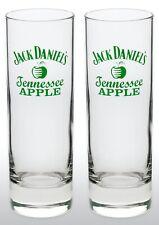 Jack Daniels Tennessee Apple Tall Whiskey Glass X 2