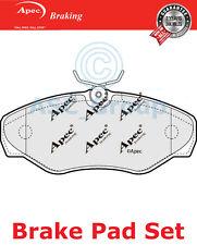 Apec Set almohadillas freno Delantero repuesto de calidad OE pad1240