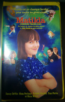 Matilda version francaise VHS Casette Tape