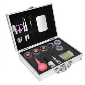 False Eyelash Extension Cosmetic Makeup Lash Full Kit Set Case Box