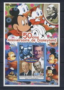 2005  50th disneyland #1 4 values mickey mouse hans christian andersen