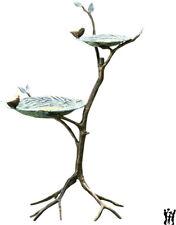 "SPI Home Gossiping Bird Feeder Tiered Birds On Branch Birdfeed Birdbath 34""H"