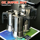 Thickened4/6/9Cup Stainless Steel Stove Top Espresso Italian Coffee Maker Percol