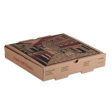 "18"" x 18"" x 1 3/4"" Kraft Corrugated Pizza Box - 50 / Case Fast Shipping !"