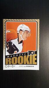 2009-10 O Pee Chee Marquee Rookie James Van Riemsdyk