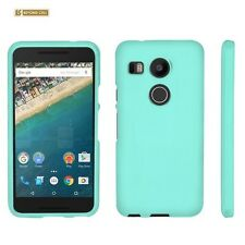 Beyond Cell Protective Case For LG Google Nexus 5X 2015 Edition Mint Rubber Feel