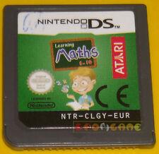 A SCUOLA DI MATEMATICA DAI 6 AI 10 ANNI Nintendo Ds »»»»» SOLO CARTUCCIA