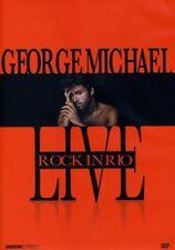 GEORGE MICHAEL - LIVE :ROCK IN RIO - DVD - Region Free - Sealed