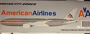JC WINGS 1:200 American Airlines Boeing 777-200ER N793AN NEW