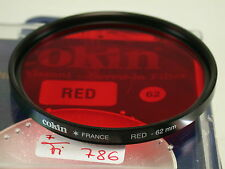 Original Cokin Filter Foto Photo Lens Rot Red 62mm 62 E62 France fi786(5)