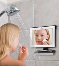 Pivoting LED Fogless Shower Mirror, Bath, Razor, Shave, Bath Room, Water,