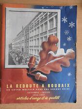 Catalogue de mode la Redoute 1956-1957