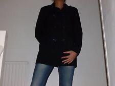 WAREHOUSE. BLACK SWING COAT