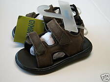 NWT Gymboree Sz 7 Bug Detective Leather Suede Sandals for about 2T
