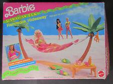 Barbie Hawaiian Fun HAMMOCK HIDEAWAY Playset (1990) 32 pieces open box unused
