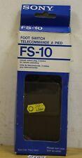 Sony Foot Switch Telecommande FS-10 Tape Recorder (2182)