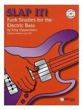 Tony de Oppenheim implementarlo Funk estudios para el bajo eléctrico guitarra música Book & CD