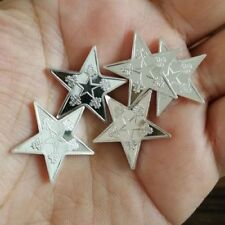 Five Pointed Silver Star - 3 Gram .999 Pure/Solid Silver 3-D Art-Bullion, New!!