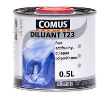 0,5l. de DILUANT T23 COMUS MARINE pour peintures et vernis polyuréthanes.