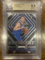 LUKA DONCIC 2018-19 PANINI PRIZM #3 RC ROOKIE EMERGENT SP BGS 9.5 GEM MINT NBA