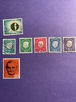 GERMANY Berlin BUNDESPOST STAMPS 1957/59/61-7 Stamps, Mix, See Photos