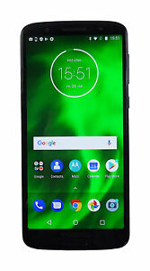 Motorola Moto G6 XT1925-4 32GB Unlocked Indigo Blue Used