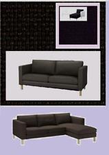 "IKEA Karlstad Korndal Dark Gray Loveseat 2 Seat Chaise Lounge""3- Sectional""Sofa"