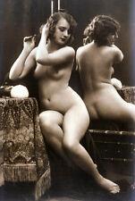 1910s Antique erotic nude Girl woman vintage risque art Photo photograph 4x6