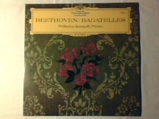 WILHELM KEMPFF Beethoven: bagatelles lp ITALY DGG COME NUOVO LIKE NEW!!!