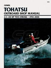 Clymer Tohatsu Outboard Shop Manual 2.5-140 HP 2 Stroke 1992-2000