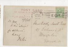 London E Crown R Machine Cancel 12 Jan 1906 400b